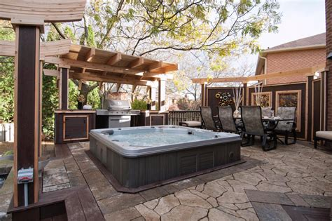 patio spa 50 gorgeous decks and patios with tubs interior
