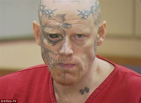 tattoo eyeball prison jason barnum with tattooed eyeball jailed after shooting