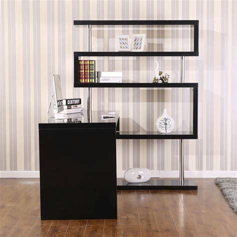 l shaped desk with bookcase desk with shelves on top hostgarcia