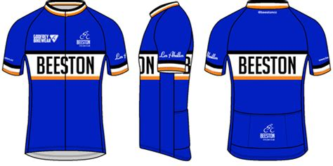 custom s s lightweight full zip cycling jersey beeston