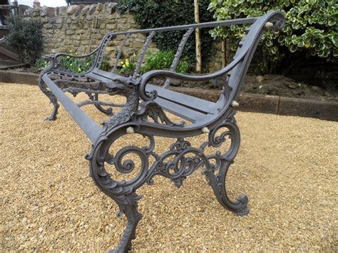 antique wrought iron outdoor benches bench antique wrought iron bench replacement parts for