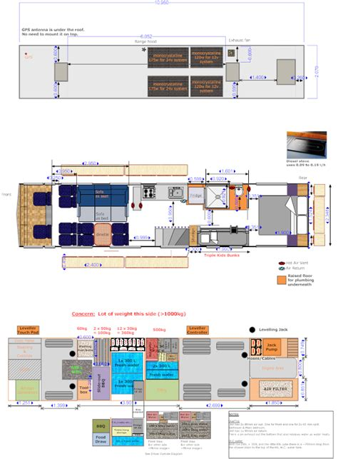bus motorhome floor plans our plans for the motorhome conversion project bus