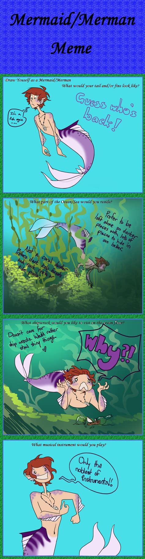 Mermaid Meme - mermaid merman meme by sollinfaolan on deviantart