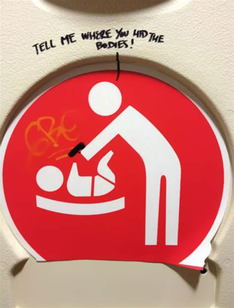 bathroom stall signs 15 inspirational bathroom stall messages to make your day