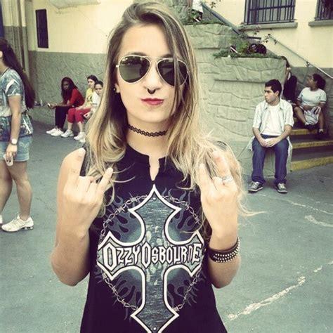 imagenes rockeras bonitas chicas metaleras y rockeras taringa