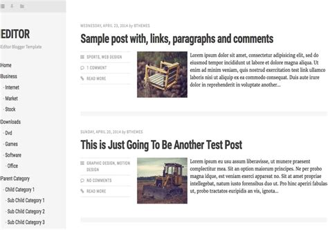 free blogger themes one column editor responsive blogger template 2014 free blogger templates
