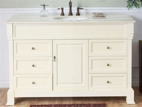 50 inch sink vanity 50 inch single sink bathroom vanity in white