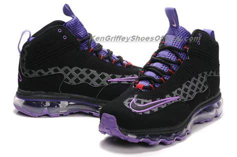 ken griffey jr shoes nike air max jr womens black purple ken griffey jr shoes