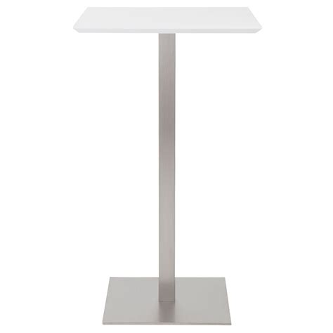 modern white bar modern bar tables ethan white bar table eurway
