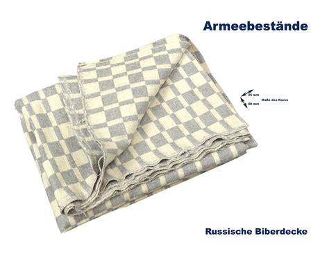 Russische Decke by Russische Biberdecke 80 20 Baumwolle A B Bundeswehr Shop