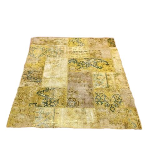 tappeto patchwork annastyle it 187 tappeto patchwork giallo 240 x 170