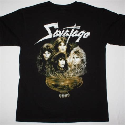 Tshirt Savatage savatage streets a rock opera new black t shirt best