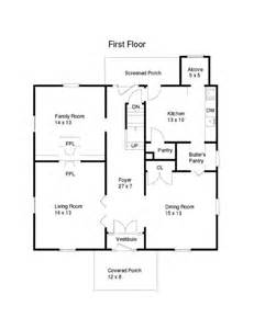 plan for house a somewhat unique floor plan meadow house
