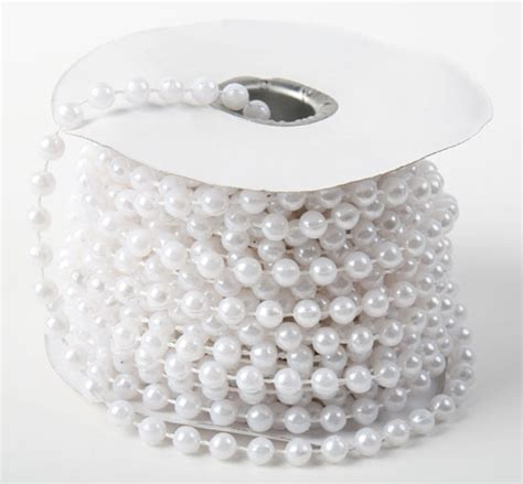 String The Pearl white fused string pearl pearl spools basic