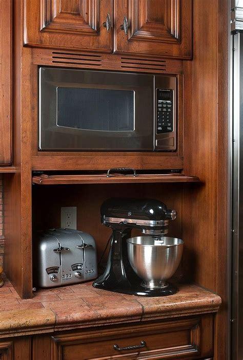retractalbe flipper door  appliance garage built