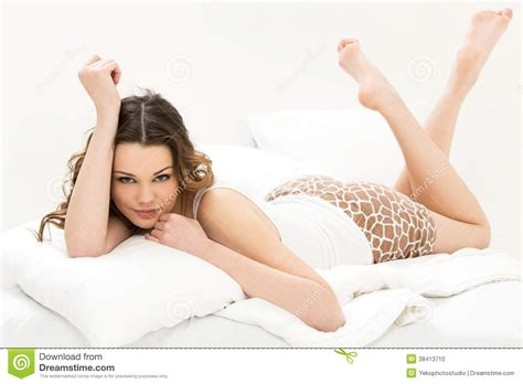 girls nude in bed beautiful girl in the bed stock photo image of lady