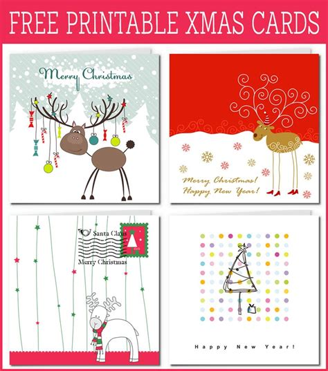 printable christmas postcards free printable xmas cards gallery