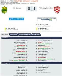 nantes nancy coupe de la ligue