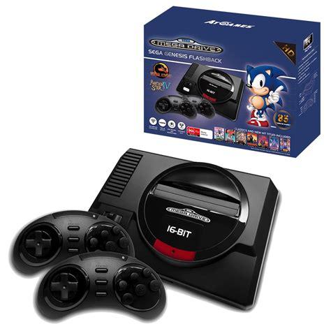 hd console sega mega drive flashback hd classic console the gamesmen