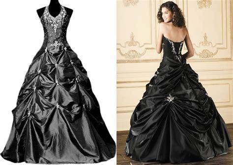 black wedding dress shop wedding dresses black and silver high cut wedding dresses