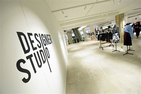 design studio selfridges reveals interiors of its new designer studio