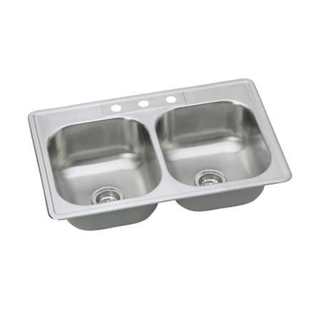 Ferguson Kitchen Sinks by Proflo Pfsr332273 Stainless Steel 33 Quot Basin Drop In