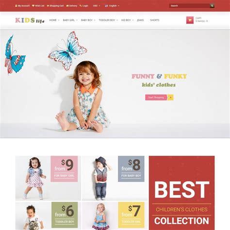 clothing site themes kids children s clothing store prestashop addons