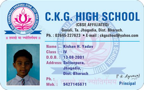 school id card template pdf more students id cards design templates sles student