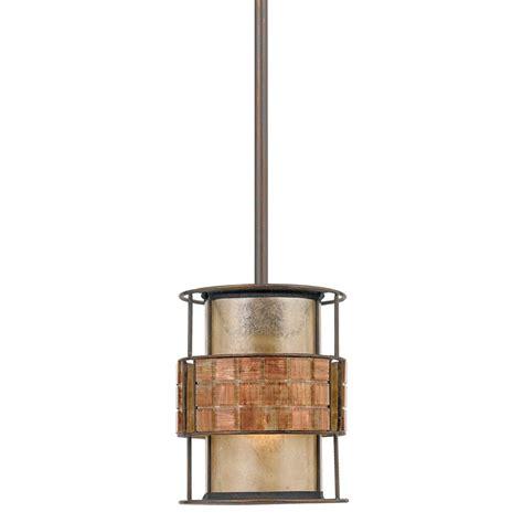 Mini Copper Ceiling Pendant Light Mosaic Pattern On Taupe Copper Mini Pendant Lights