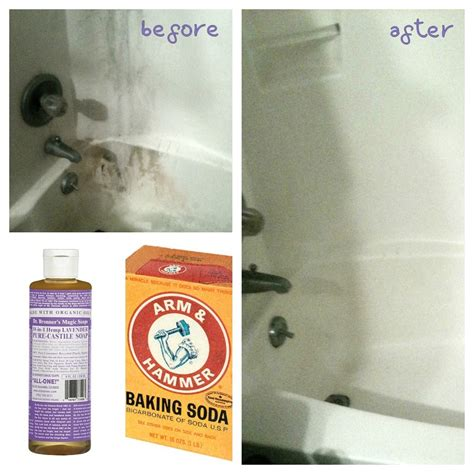 diy soap scum remover soft scrub alternative