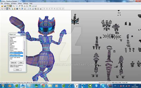 Mewtwo Papercraft - paper mewtwo images images