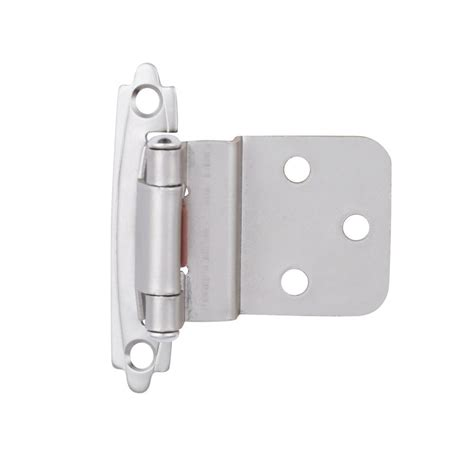 Cabinet Door Hinges Home Depot Liberty 3 8 In Satin Nickel Self Closing Inset Hinge 1 Pair H0104ac Sn O3 The Home Depot