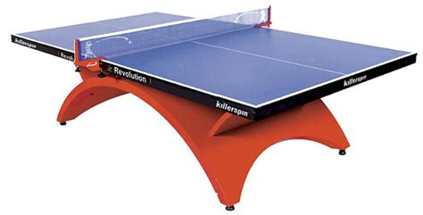 cool ping pong tables killerspin revolution table tennis table cool material