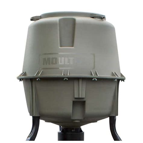 Clearance Deer Feeders Moultrie 30 Gallon Dinner Plate Tripod Deer Feeder