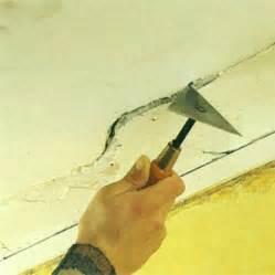 comment reboucher des fissures au plafond maisonbrico