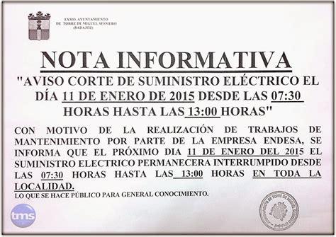 imagenes nota informativa ayuntamiento de torre de miguel sesmero nota informativa