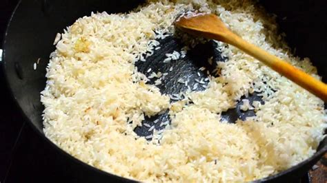 arroz blanco cocinar como cocinar arroz blanco