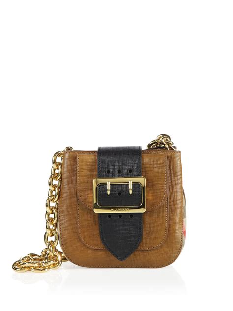 Burberry Square Dress burberry small square buckle leather shoulder bag in brown