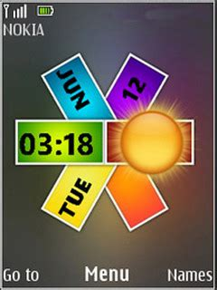 download themes for colors mobile download nokia colors clock s40 theme nokia theme mobile