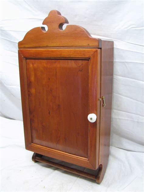 Wooden Spice Cupboard Antique Wooden Bathroom Medicine Wall Kitchen Spice