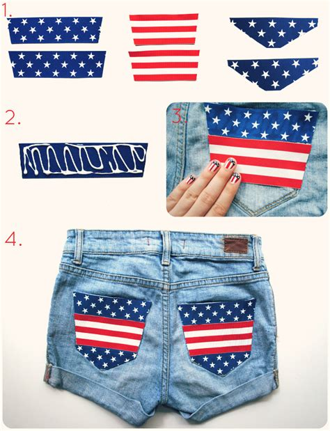 4th of july diy and stripes shorts 171 m j