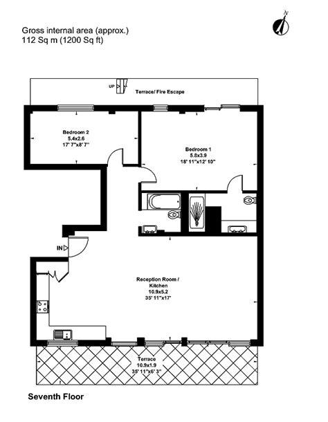 post hyde park floor plans for sale two bedroom penthouse clarendon place london