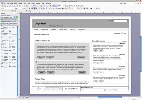 visio mockup tools of the trade software for prototyping schaefer