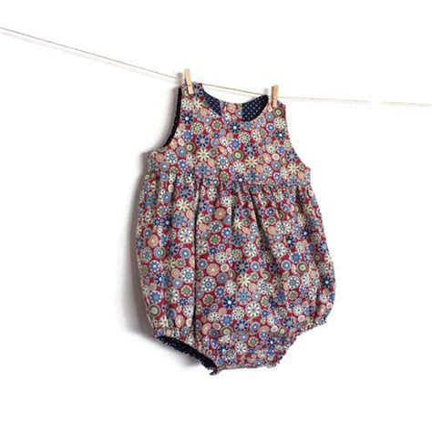 baby romper pattern  sewing pattern instant