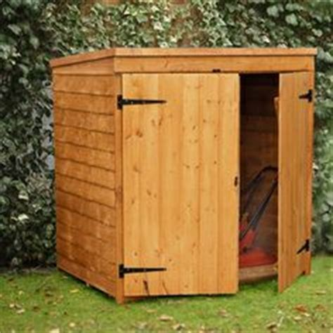 Small Shed For Lawn Mower 1000 Images About Lawnmower Storage On