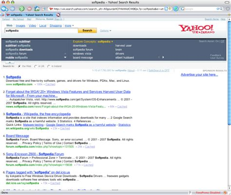 Uk Yahoo Search Yahoo Search Assist Now In United Kingdom Softpedia
