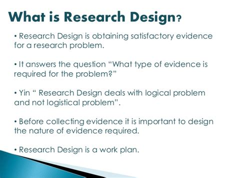 design definition research research design simplified