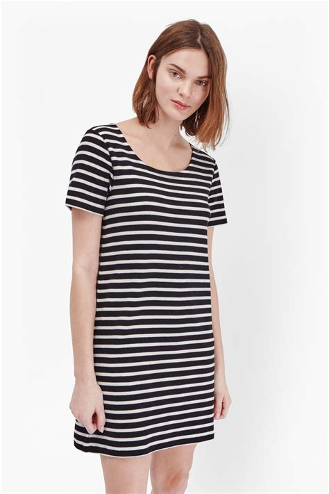Striped T Shirt Dress striped t shirt dress collections connection