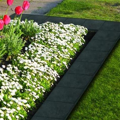 Landscape Edging Rona Ecotrend 12x12 Inch Stomp Slate 4 1pk