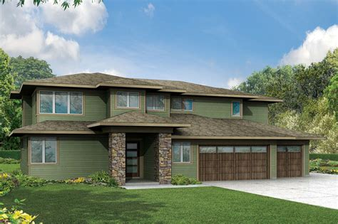 house plans prairie style prairie style house plans brookhill 30 963 associated designs